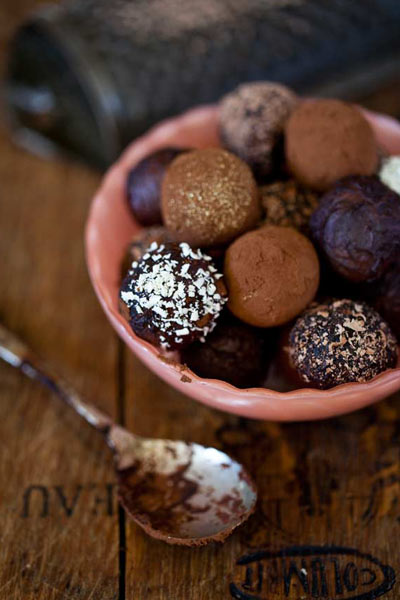 Easter chocolate chocolate liqueur truffles