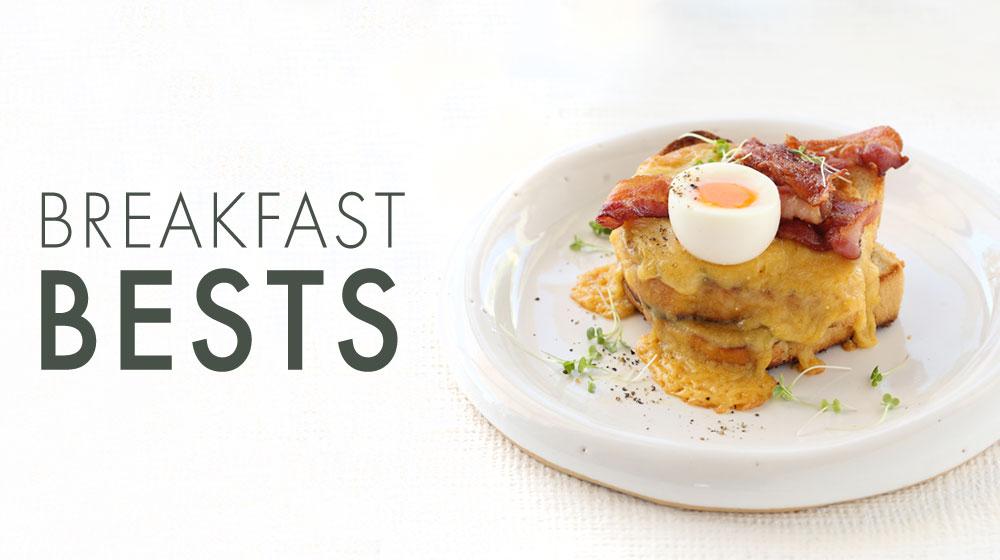 Breakfast recipe round up