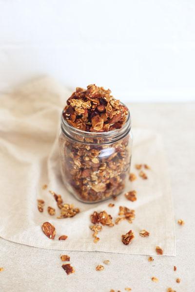 recipes with honey granola