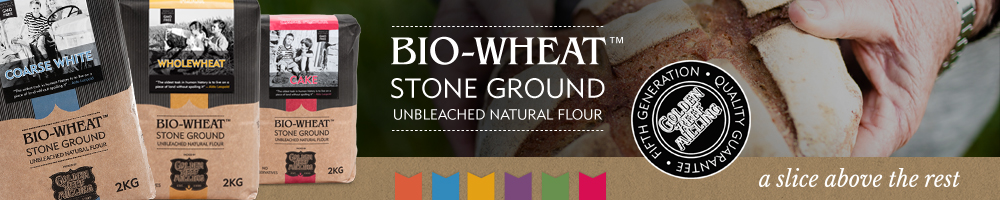 Cape Town Bakery Bio Wheat Branded Banner