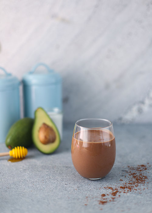 Chocolate and Avocado Smoothie