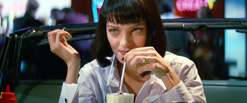 Pulp Fiction food movies
