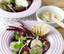 BEETROOT, GOAT'S CHEESE & WATERCRESS SALAD