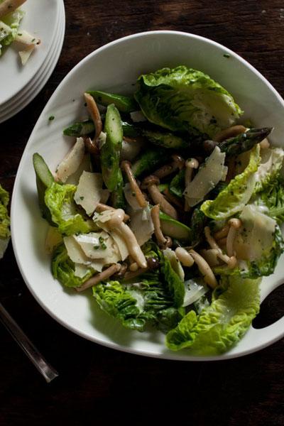Baby Gem Lettuce Salad
