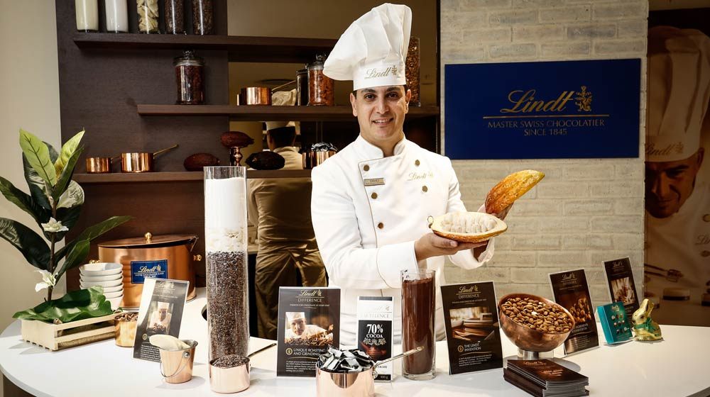 Lindt Store Silo