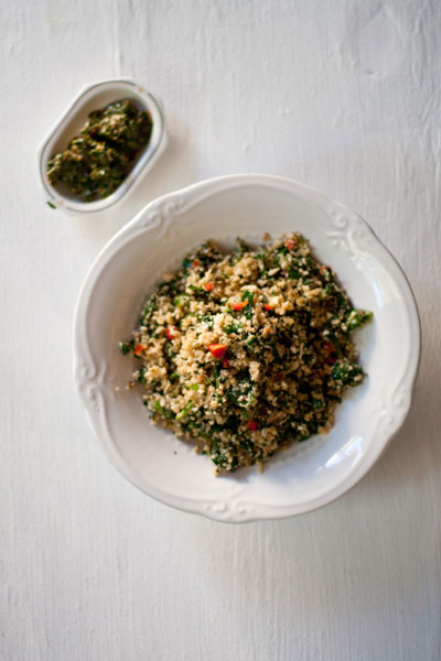 Cauliflower Couscous healthy lunch ideas for work