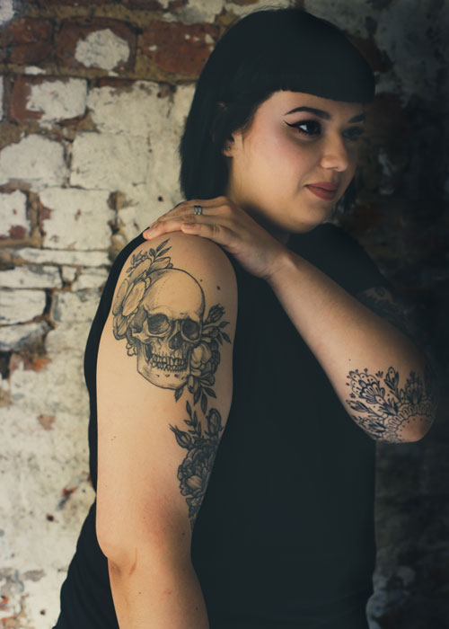 Cape Town chefs and their tattoos - Cynthia Rivera owner & chef at Mulberry & Prince
