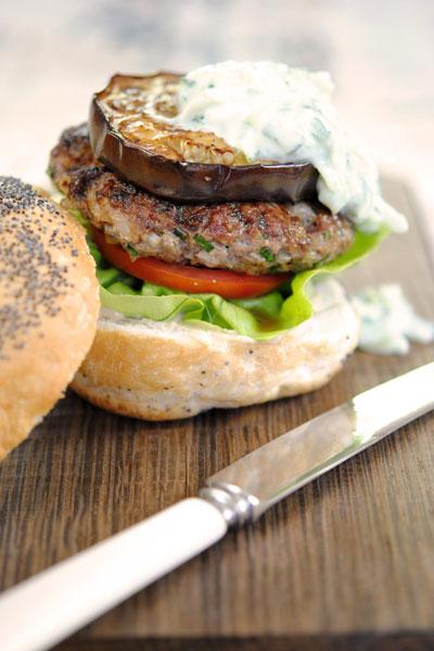 hamburger recipe greek lamb burger