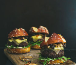 Hamburger Lamb & Mushroom Slider