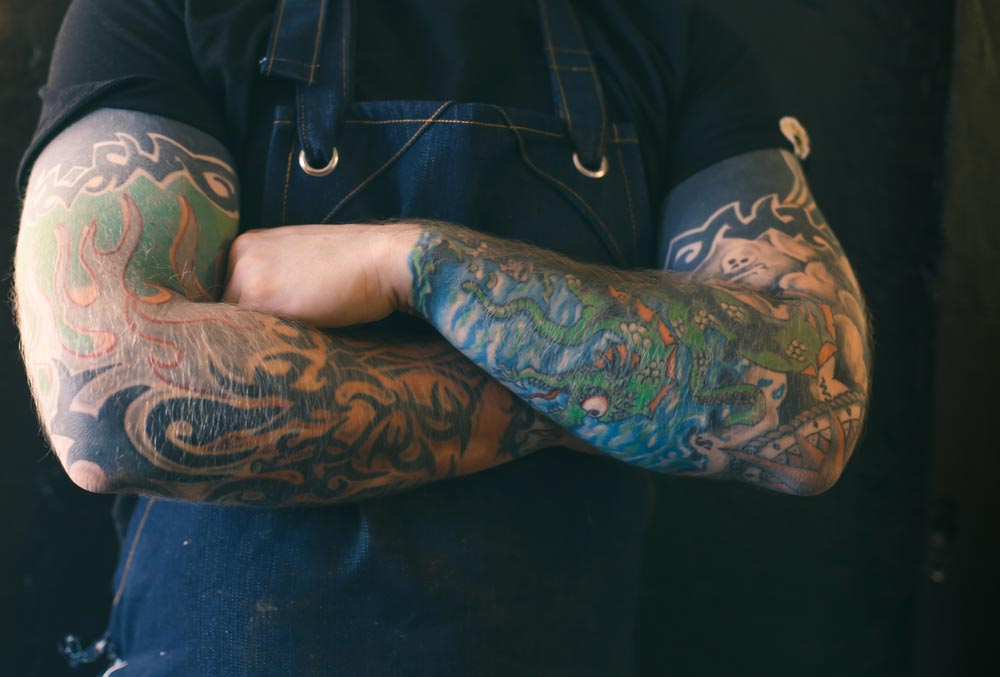 Cape Town chefs and their tattoos - Rikku Ó'Donnchü Owner YUZU Kitchen & Bar