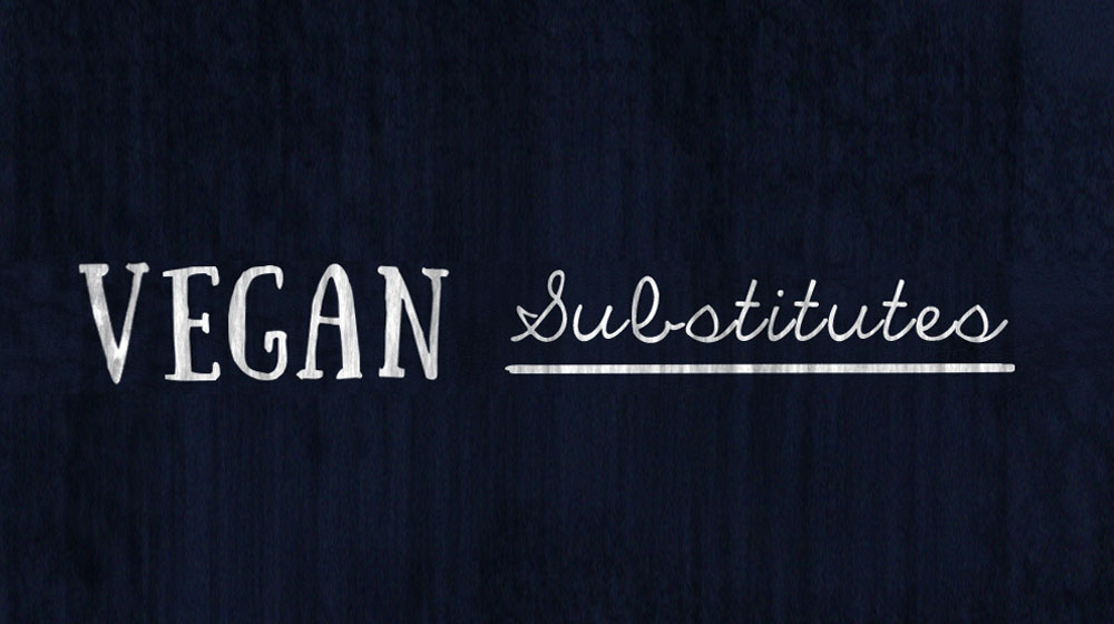 header vegan substitutes