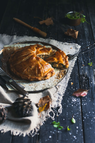 savoury pie recipes jerusalem artichoke