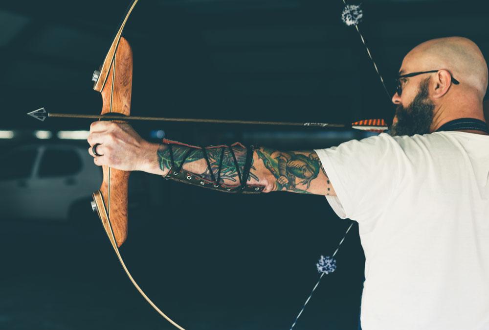 chef-Chris-Erasmus-bow-and-arrow_foliage-