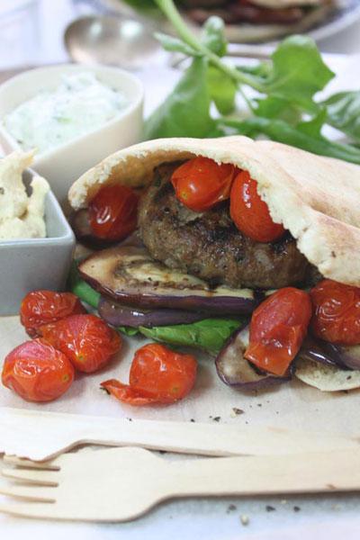 hamburger recipe big fat greek burger