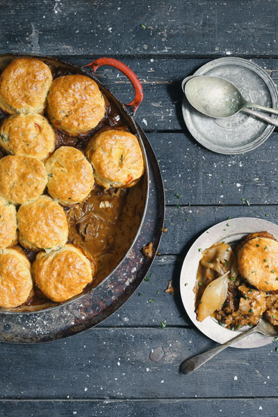 Oxtail Pie recipe - four-basic-baking-methods