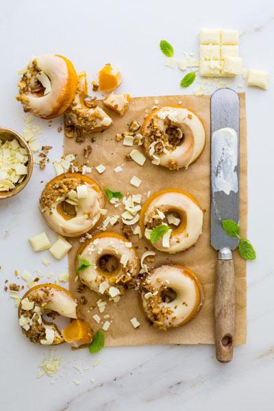 Baked Carrot Doughnuts