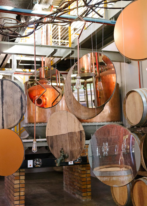 South African Brandy at the KWV House of Fire