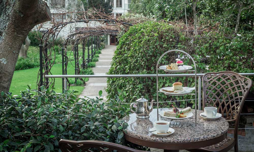 where to get High Tea in Cape Town vineyard hotel