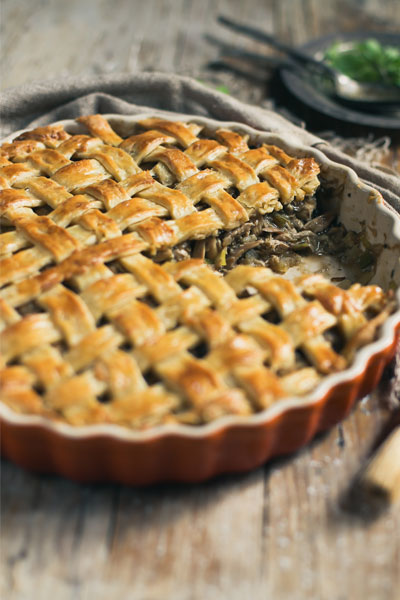 savoury pie recipes chicken pie
