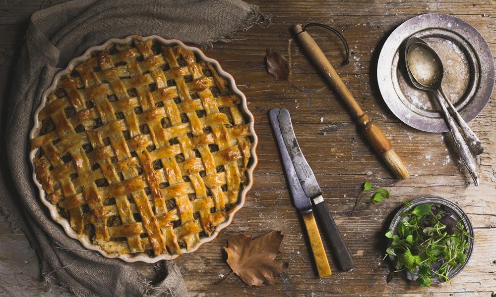 Chicken Lattice Pie