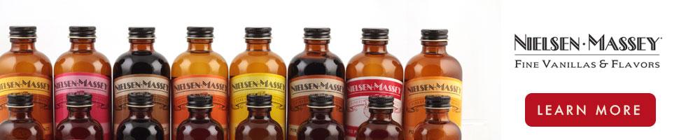 Nielsen Massey Vanilla Stock your baking pantry