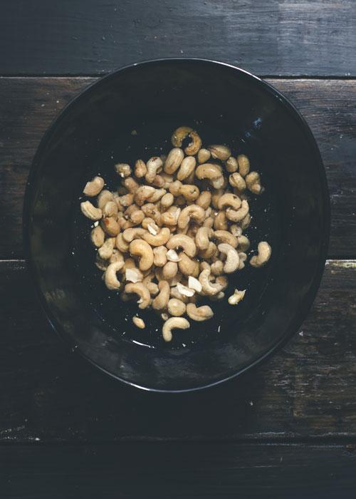 vegan cashew nut cheese