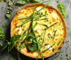 Asparagus-Pea-and-Goats Tart