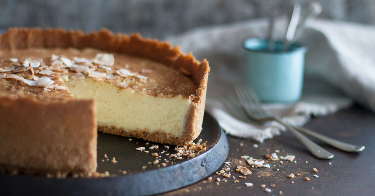Coconut Condensed Milk Tart Crush Magazine