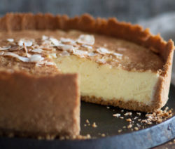 Coconut Condensed Milk Tart