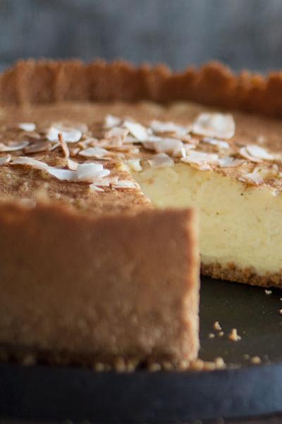 braai desserts - condensed milk tart
