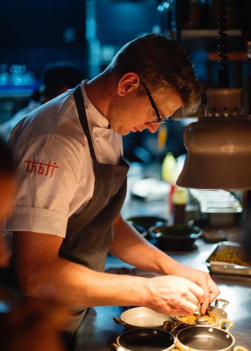 Chef John van Zyl of Thali Restaurant