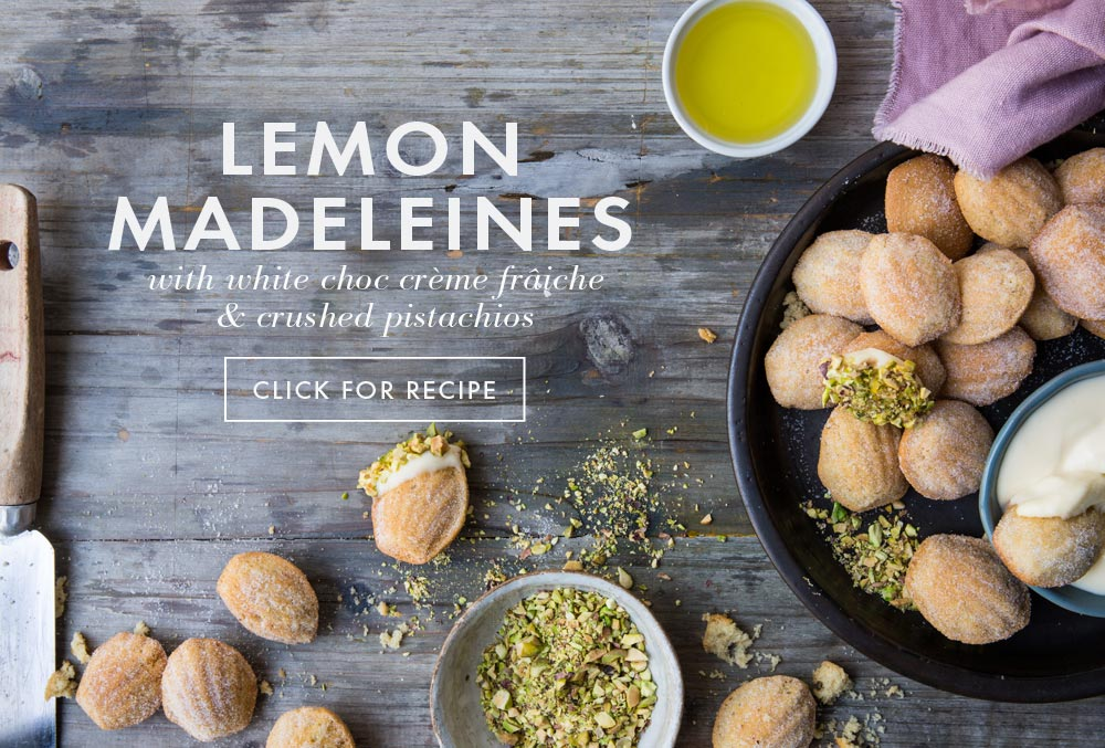 Avocado Oil Recipes - lemon madekeines