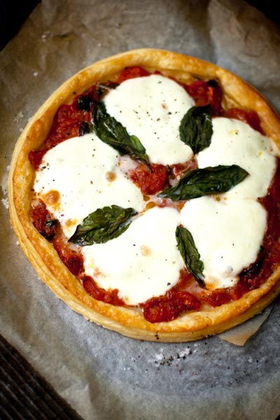 Best Cheese Recipes Caprese Galette