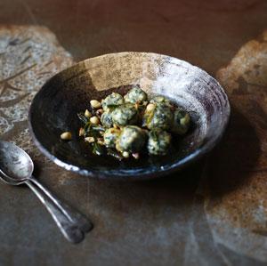 ricotta & spinach gnudi