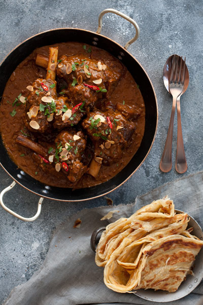 Indian Curry Recipes Rogan Josh Lamb Shanks