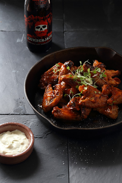 Beer Recipes Sriracha amber ale hot wings