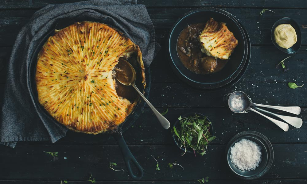Steak and Kidney Cottage Pie