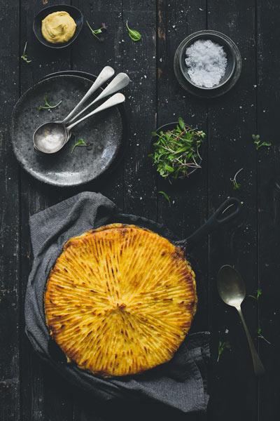 savoury pie recipes steak & Kidney Cottage Pie