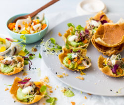 Wonton-Cups-with-Tuna-Tartare,-Avo-and-Wasabi-Mayonnaise-4x6