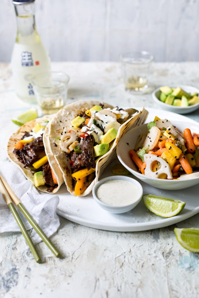 Quick and Easy Taco recipes - asian style tacos