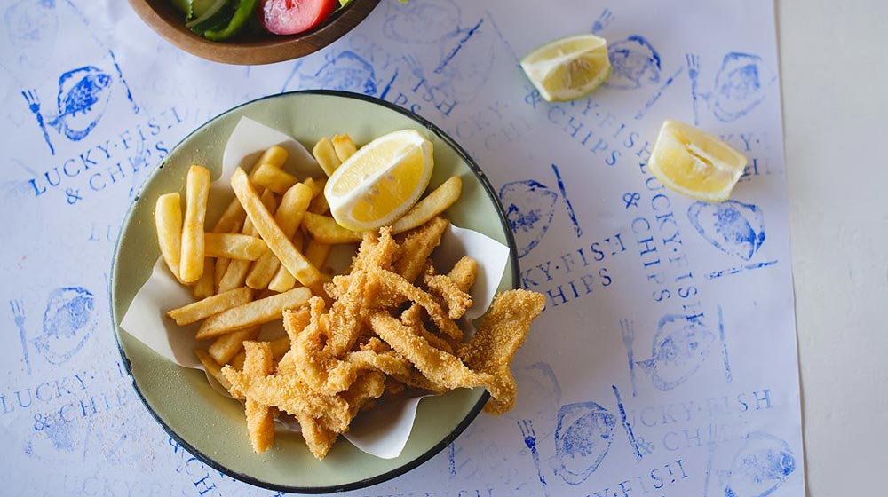 fish 'n chips in Cape Town