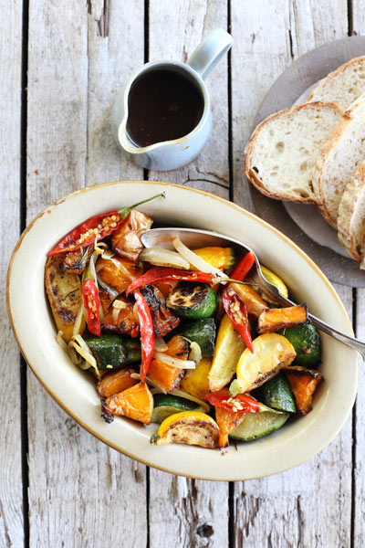 recipes with honey oven roasted squash