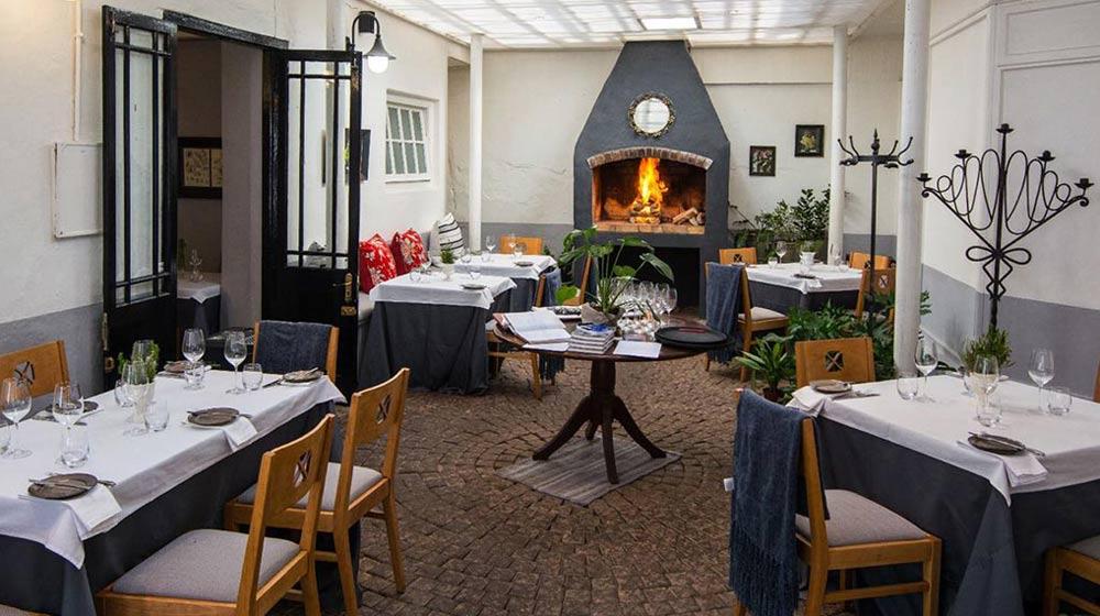 restaurants in Stellenbosch Jardine Restaurant