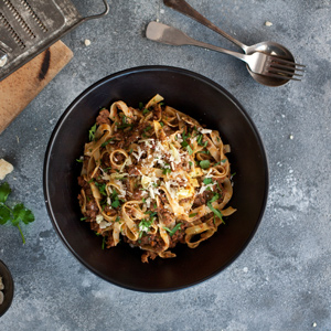 Slow cooked meat ragù