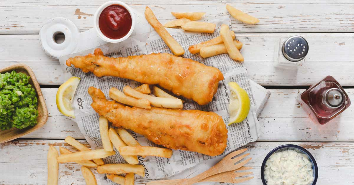 The Best Fish and Chips with Mushy Peas | Crush Online Magazine
