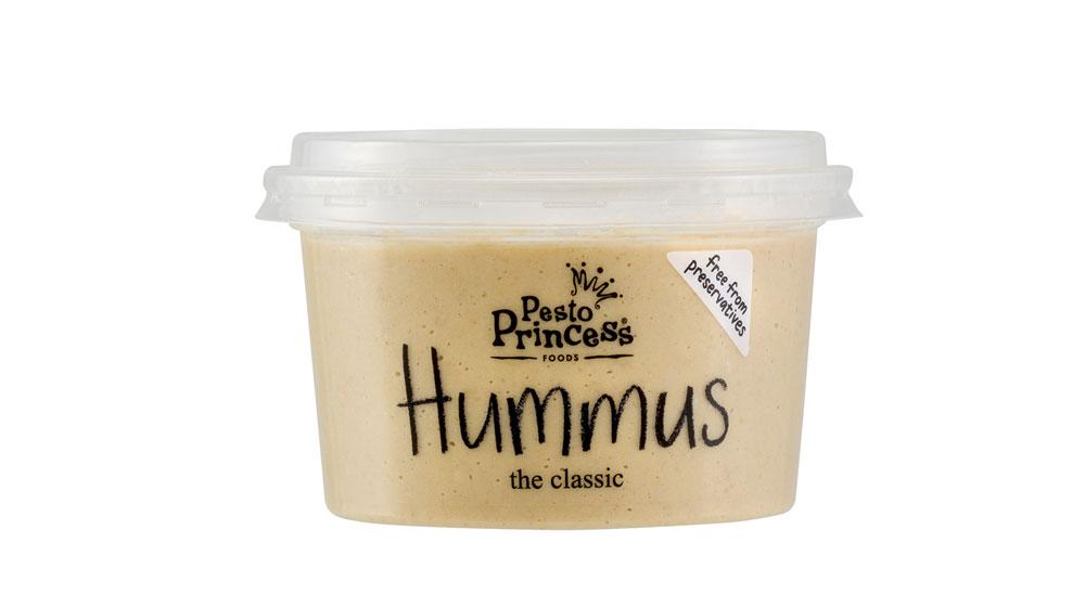 Pesto Princess Hummus