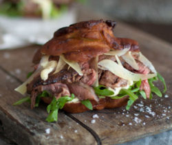 Vetkoek-Steak-Sliders-with-Horseradish-Mayo
