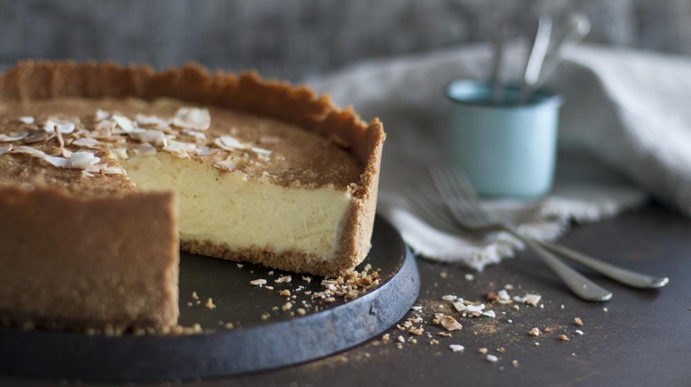 braai desserts - milk tart