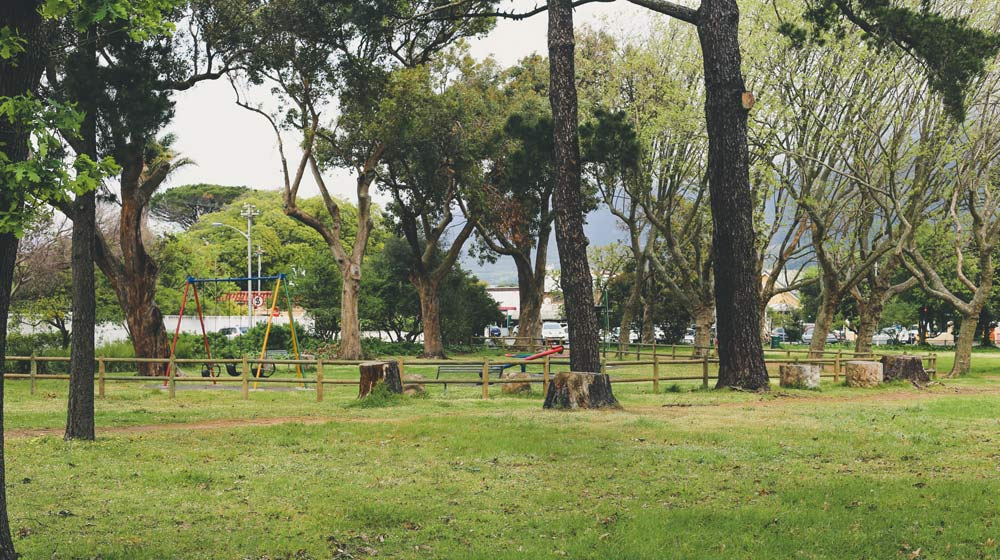 Parks in Cape Town 1x5