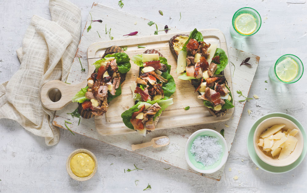 Farm to Table Cooking with Boschendal | Braaied Chicken Tartine